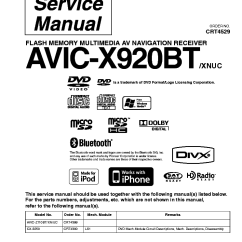 Pioneer Avic X930bt Wiring Diagram For Photocell And Timeclock Z120bt Z ~ Elsalvadorla