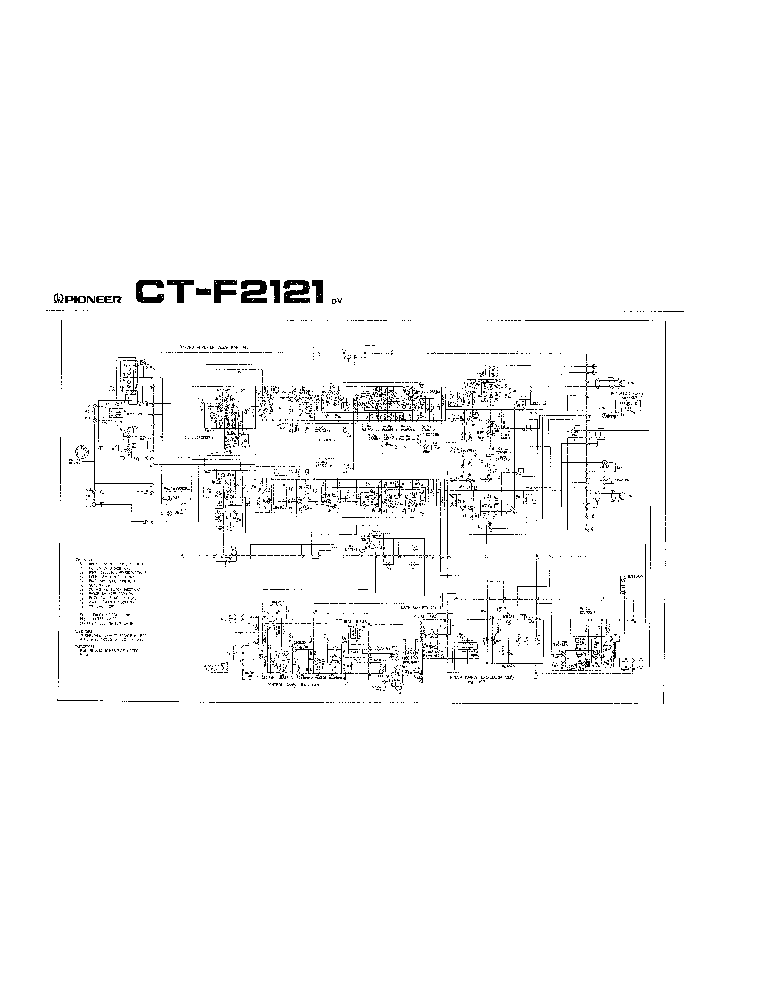 PIONEER CS-05 SCH Service Manual download, schematics