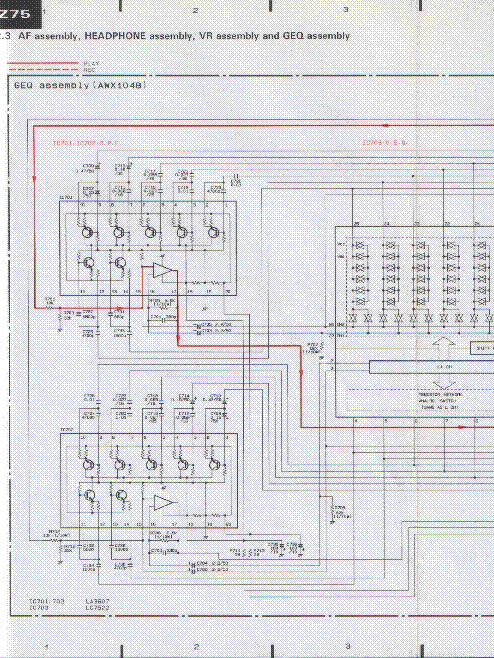 PIONEER DC-Z75 SCH 2 Service Manual download, schematics