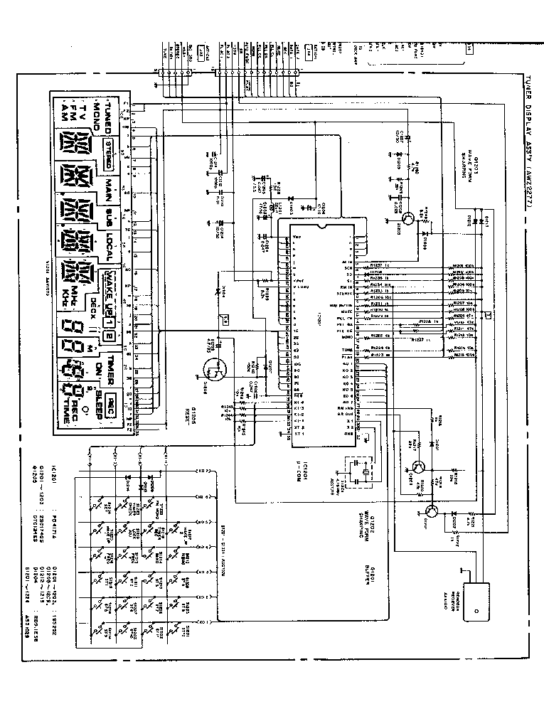 PIONEER F-Z92L SCH Service Manual download, schematics