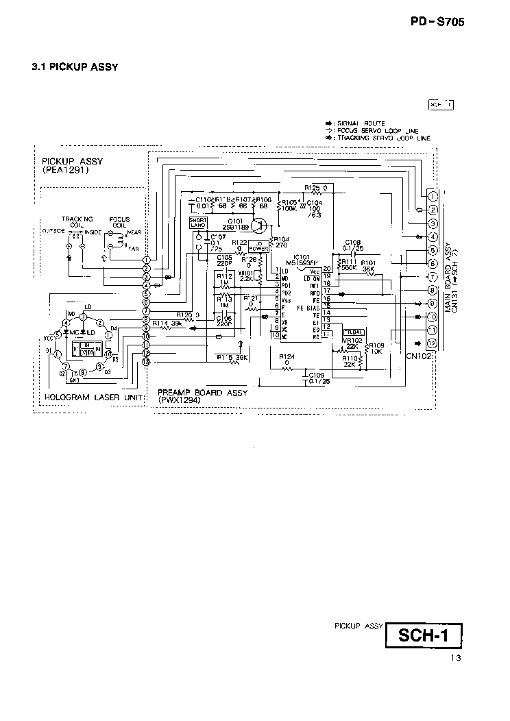 PIONEER SA-9100 KCW FVW Service Manual download