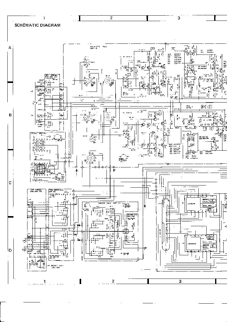 PIONEER SA-9800-HG SCH Service Manual download, schematics