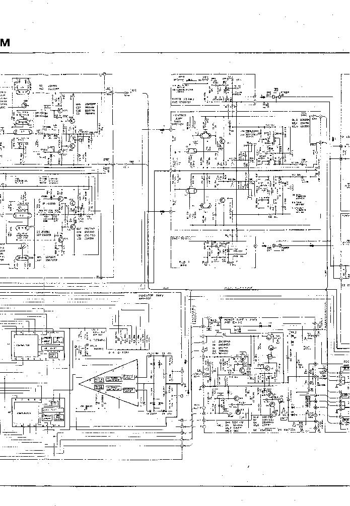 PIONEER SA-9800 SCH Service Manual download, schematics