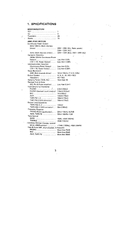 PIONEER SX-535 Service Manual download, schematics, eeprom