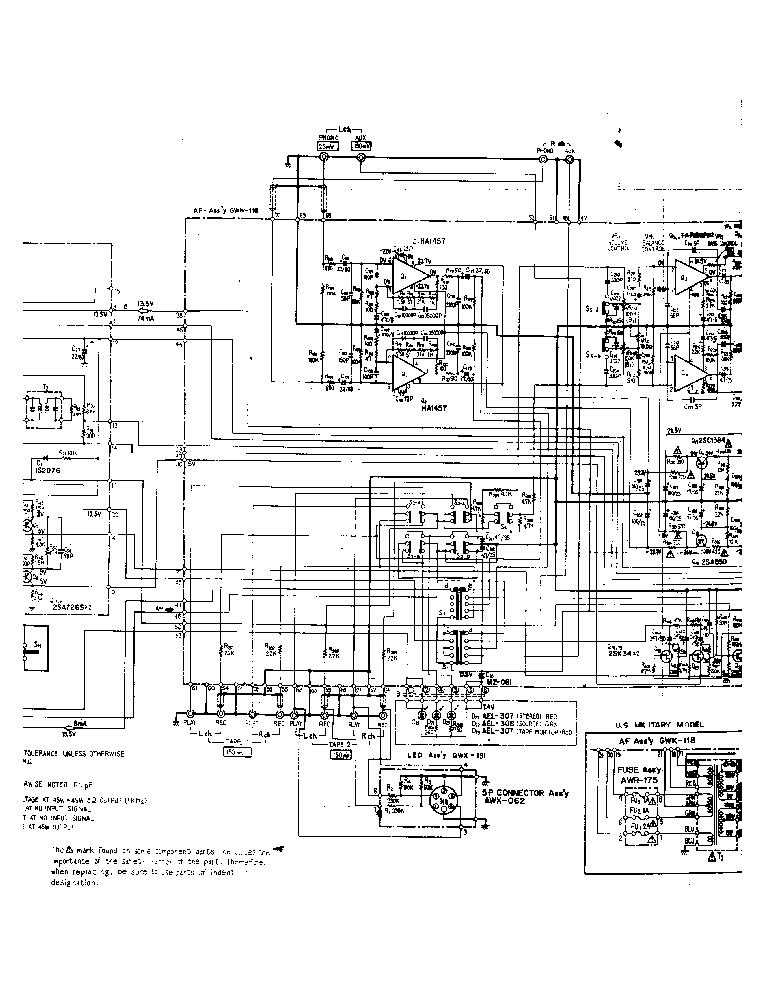 PIONEER SX-780 Service Manual download, schematics, eeprom