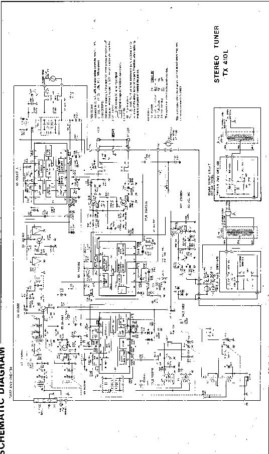 PIONEER TX-410L SCH Service Manual download, schematics