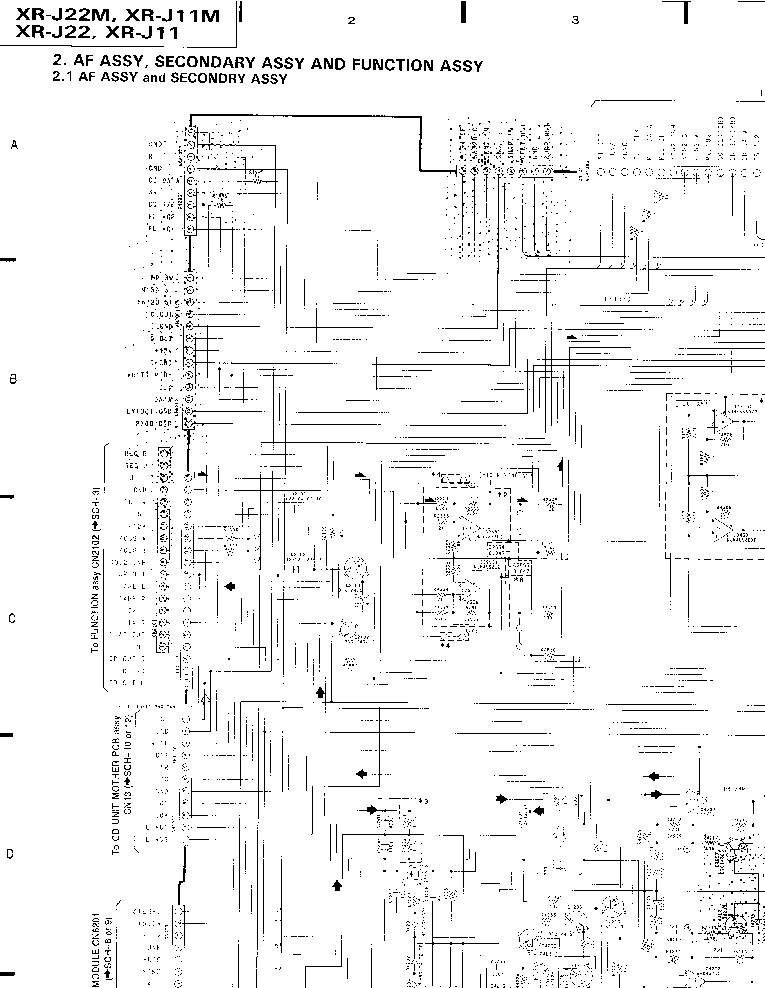 PIONEER XR-J11,J22 Service Manual download, schematics