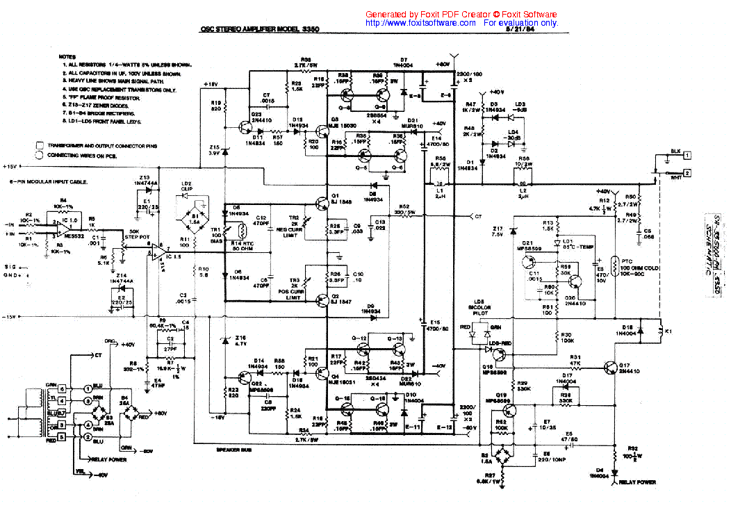 QSC GX5 SH TS SCH Service Manual download, schematics