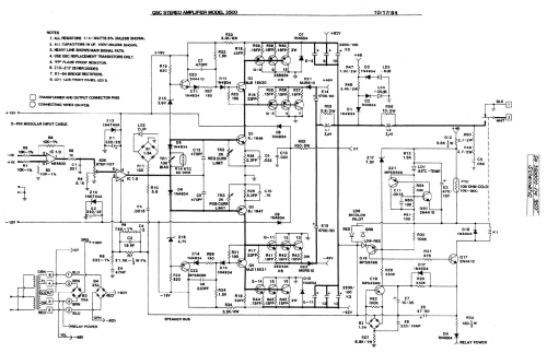 small resolution of qsc 3500 audio amplifier sch service manual 1st page