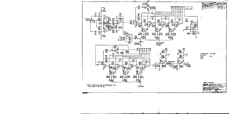 RENKUS-HEINZ P2400 SCH Service Manual download, schematics