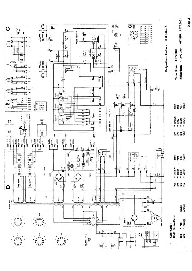 REVOX F36 Service Manual download, schematics, eeprom