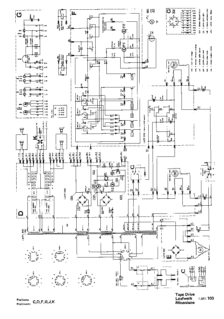 REVOX A77 SCH 3 Service Manual download, schematics