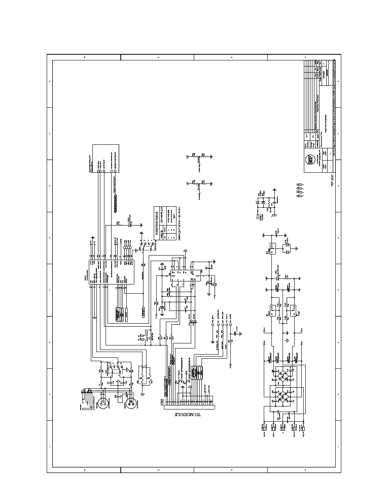 RCF ART315A SCH Service Manual download, schematics