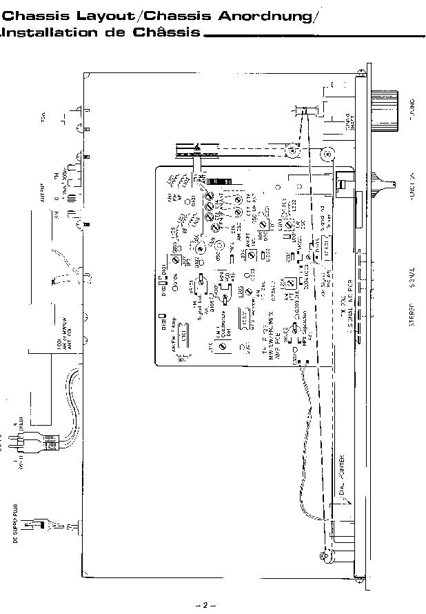 ROTEL RT-400-400L SM Service Manual download, schematics