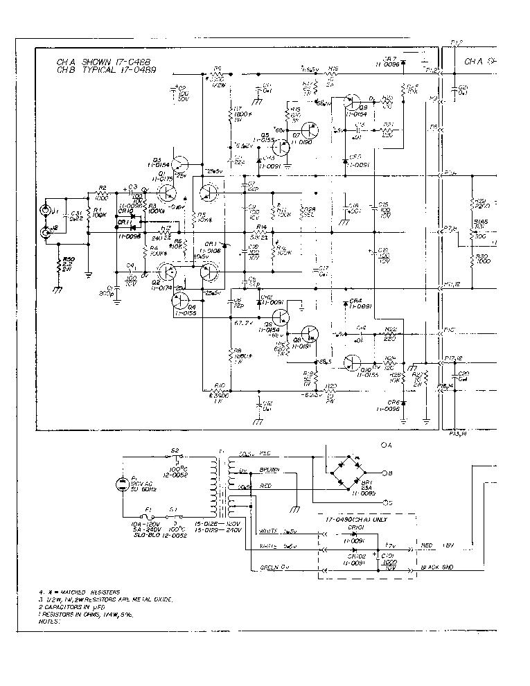 SAE MARK 2400 SCH Service Manual download, schematics