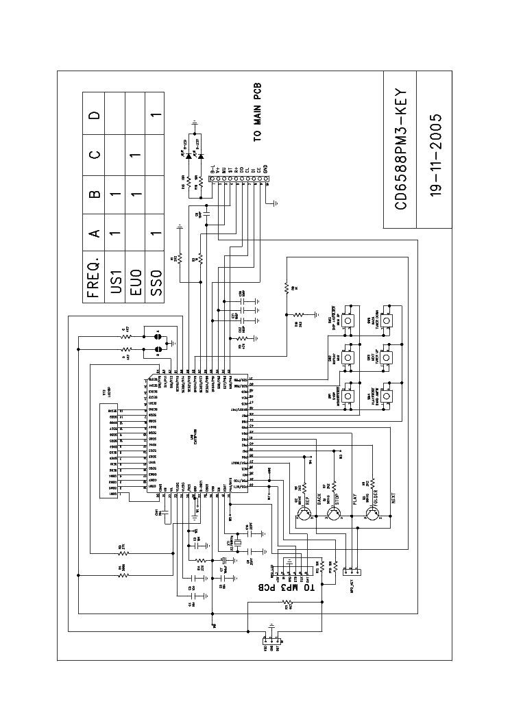 SAMSUNG CD6588PM3 SCH Service Manual download, schematics