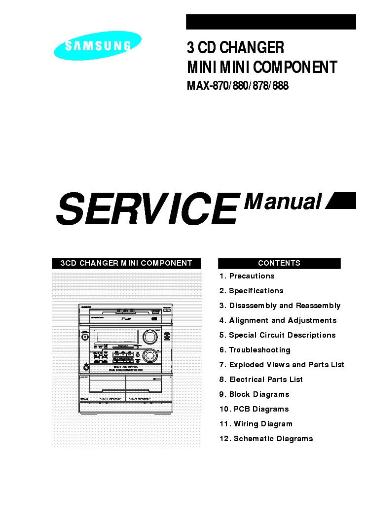 SAMSUNG SC-6450-SM Service Manual free download