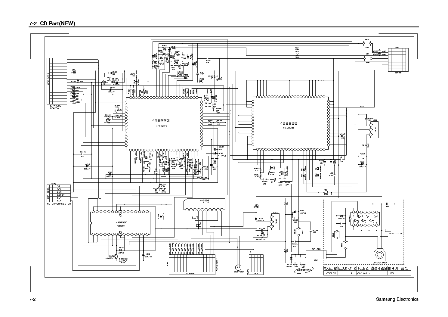 SAMSUNG MM-N7 Service Manual download, schematics, eeprom