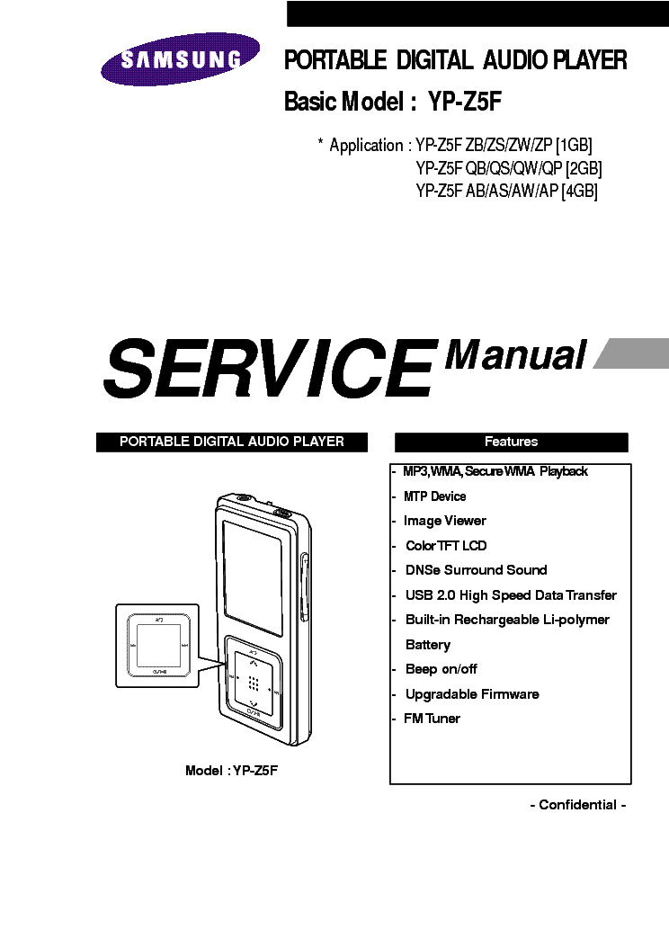 SAMSUNG PC-690 PCD-790 SM Service Manual download