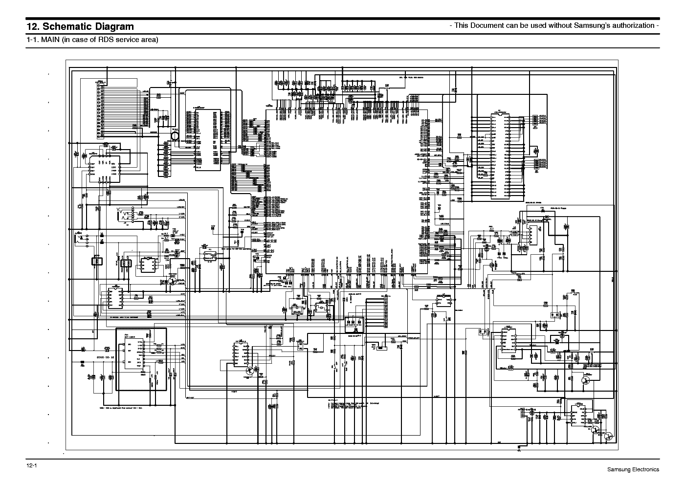SAMSUNG MAX-ZS530 Service Manual download, schematics