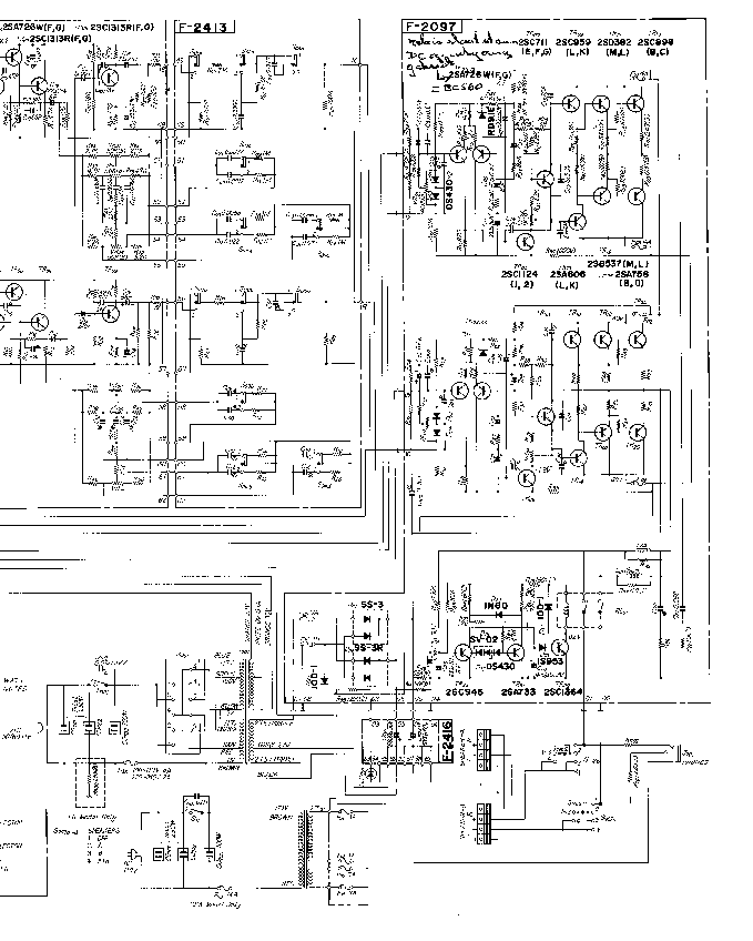 SANSUI 5500 SCH Service Manual download, schematics