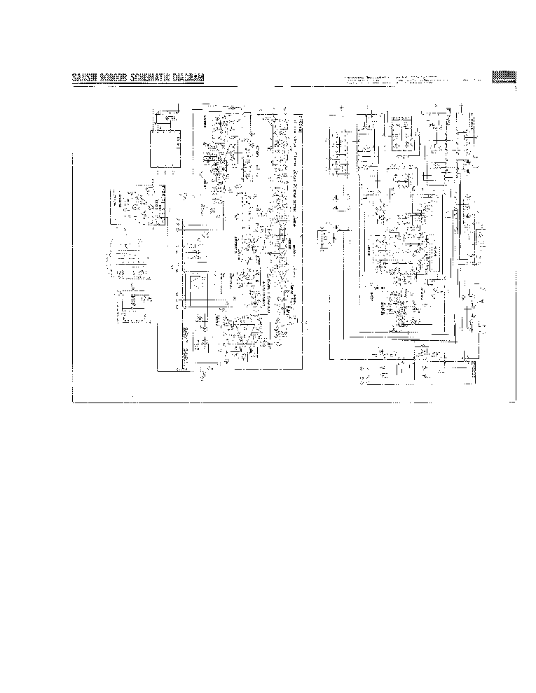SANSUI 9090DB SCH Service Manual download, schematics