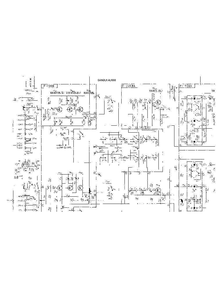 SANSUI AU-888 SCH Service Manual download, schematics