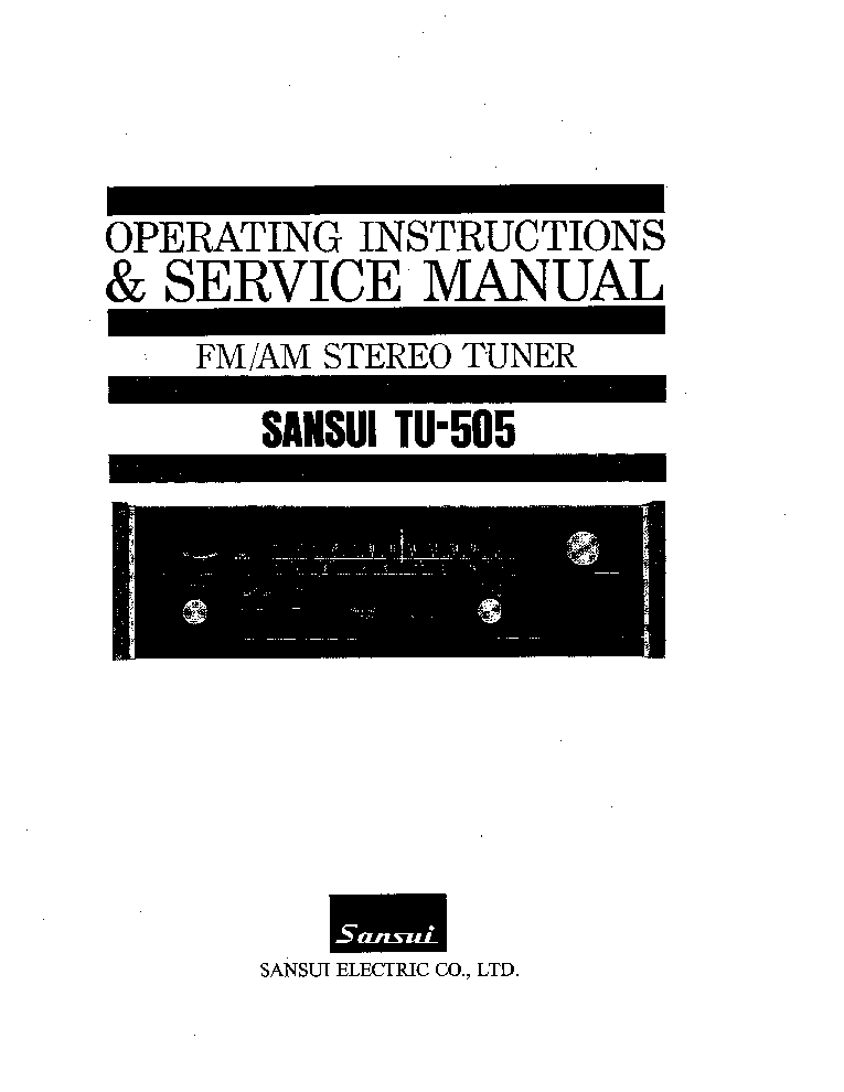 SANSUI G-4700-POWER-AMP-SCHEMATIC. Service Manual free