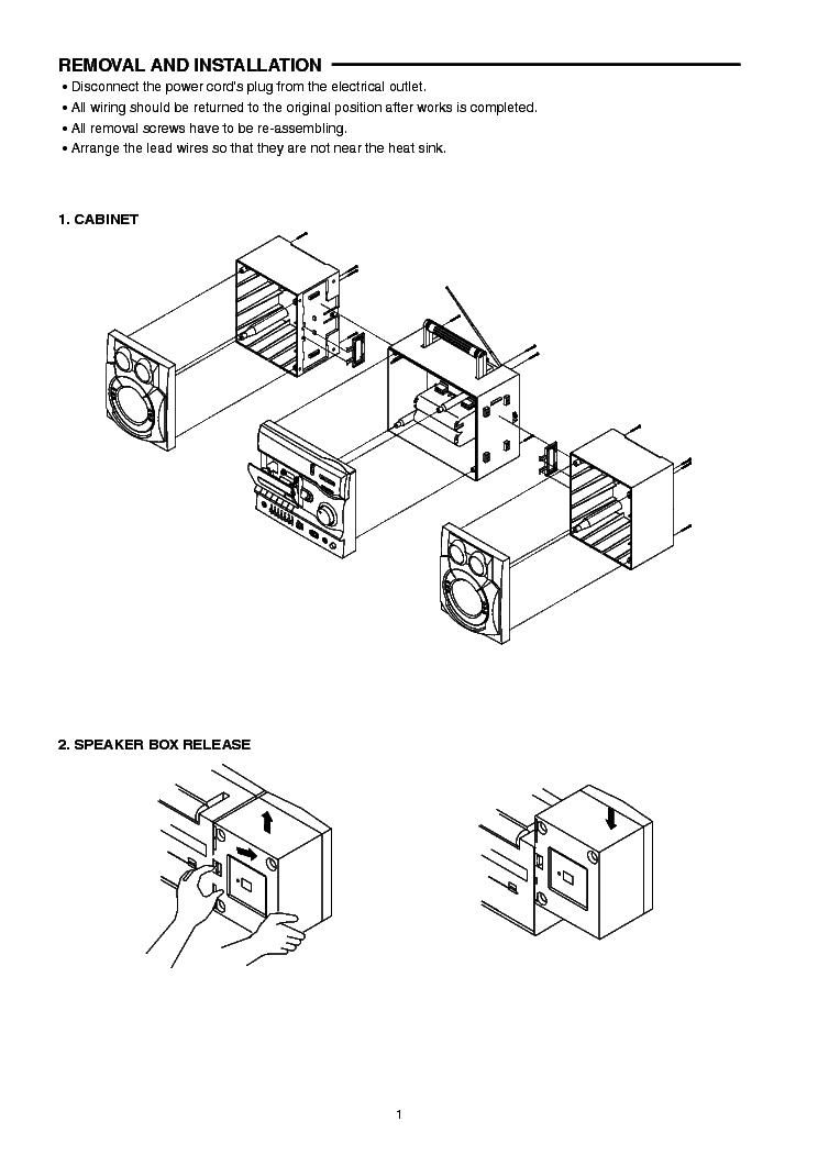 SANYO BIG-1000K Service Manual download, schematics