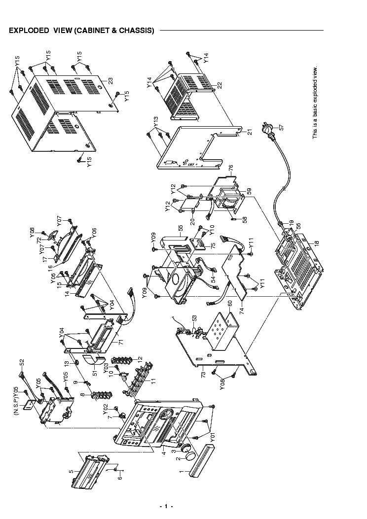 SANYO DC-DA3000 SM Service Manual download, schematics
