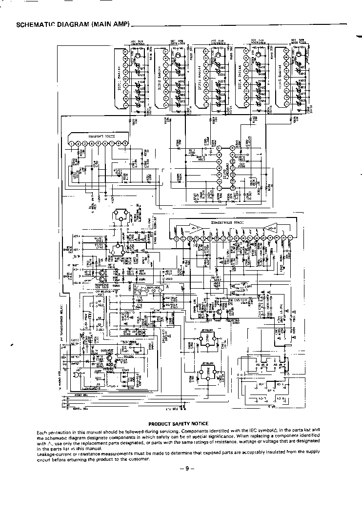 SANYO JA-7120 SCH Service Manual download, schematics
