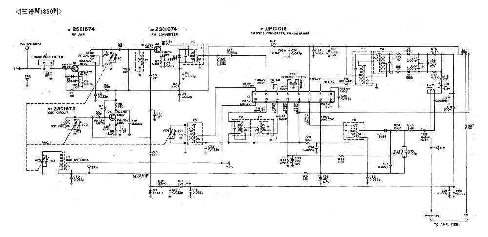 medium resolution of sanyo dc d70 mini component system service manual download sanyo st 21se1 schematic diagram sanyo schematic diagram