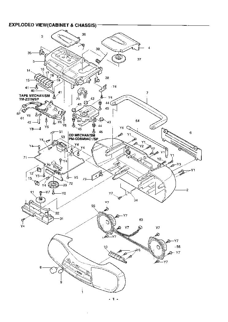 SANYO MCD-Z12F SM Service Manual download, schematics