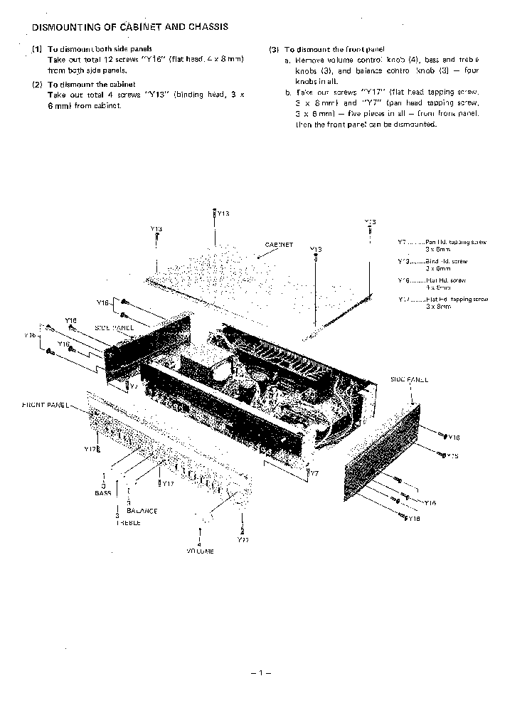 SANYO PLUS A35 SM Service Manual download, schematics