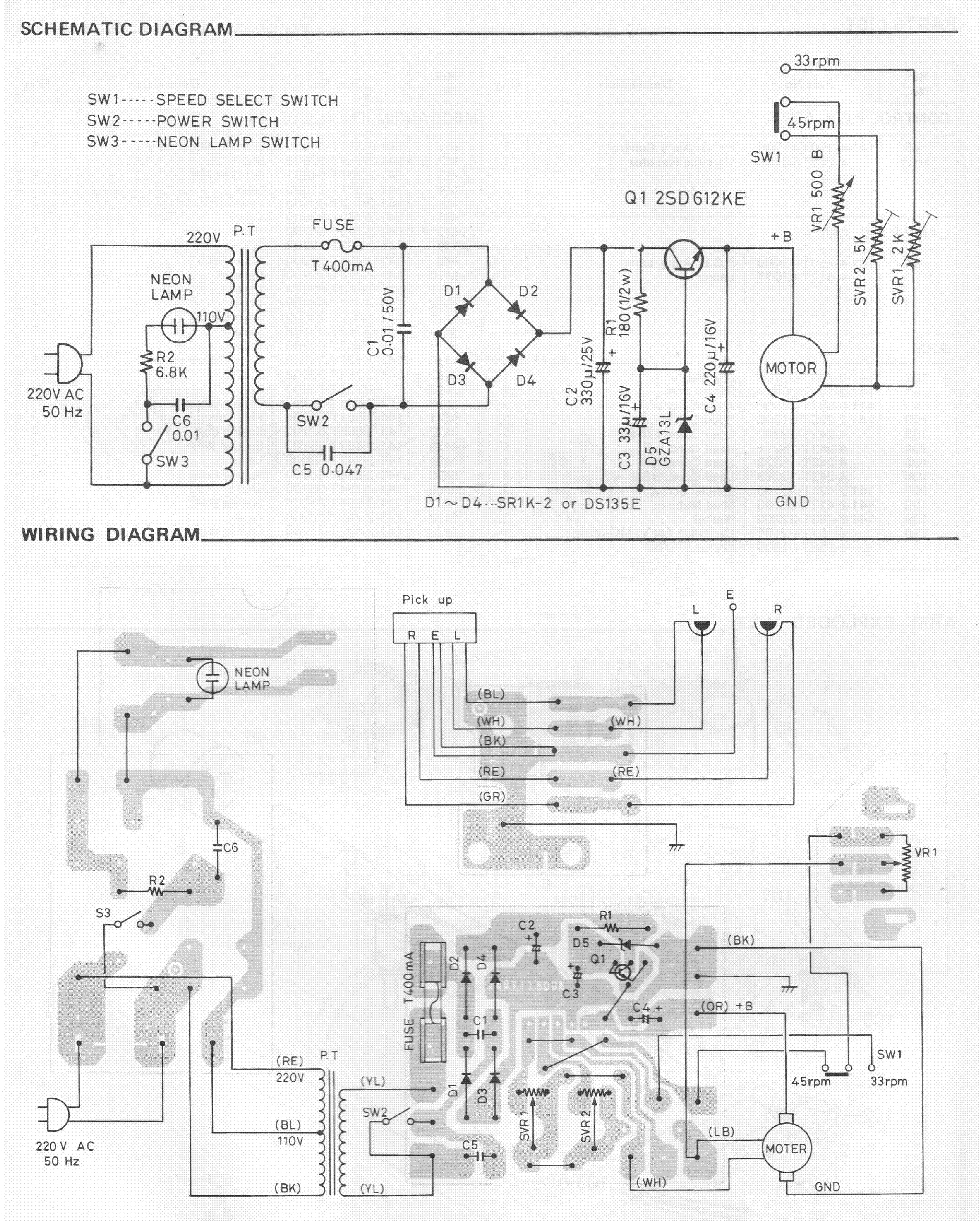 SANYO TP-X1S STEREO TURNTABLE SM Service Manual download
