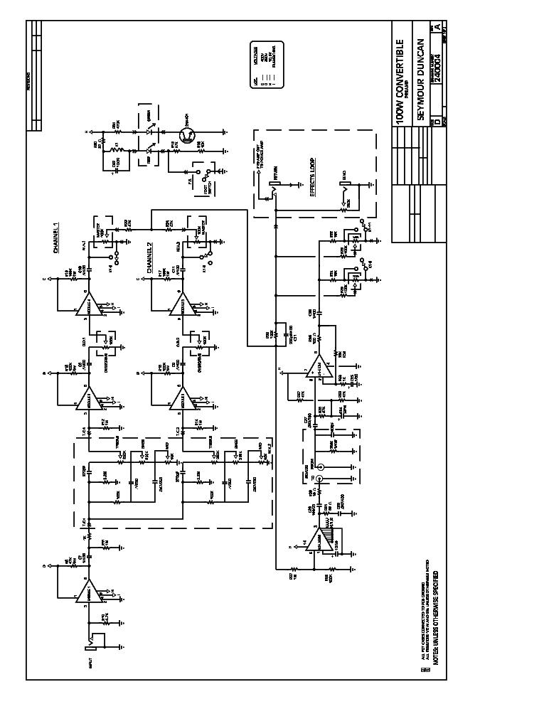 SEYMOUR DUNCAN 84-40 TUBE GUITAR AMPLIFIER 1990 SCH