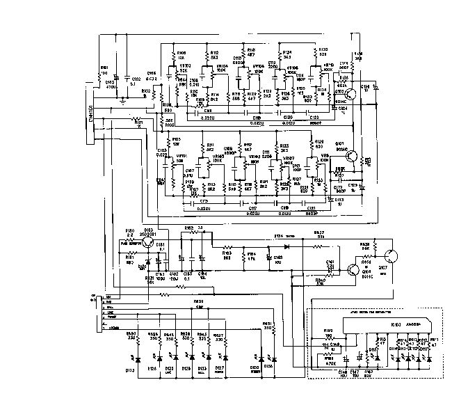SHARP WQ-740W Service Manual download, schematics, eeprom
