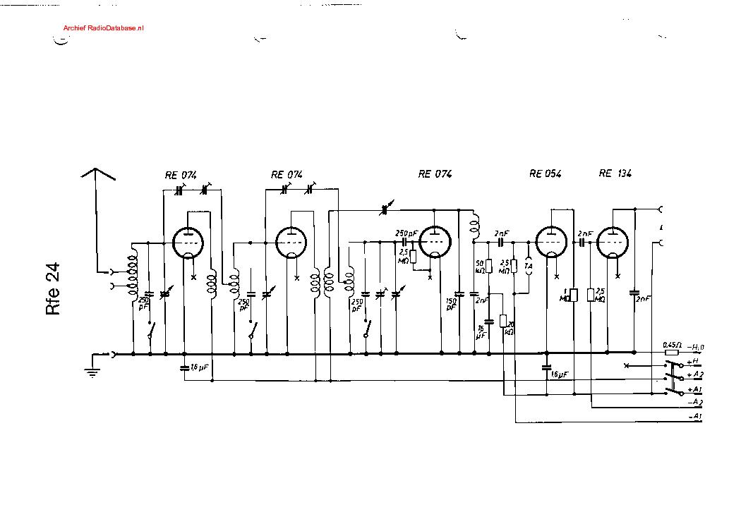 SIEMENS RFE24 Service Manual download, schematics, eeprom