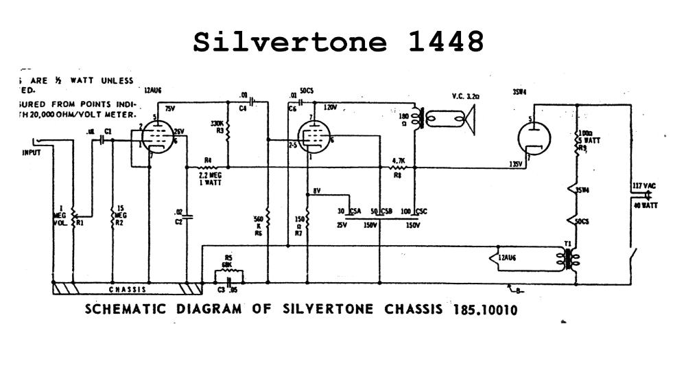 medium resolution of silvertone 1448 wiring diagram circuit diagram symbols u2022 rh blogospheree com silvertone 1448 wiring diagram