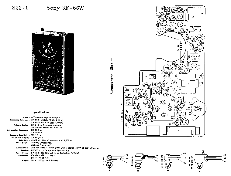 SONY TA-2650 Service Manual free download, schematics
