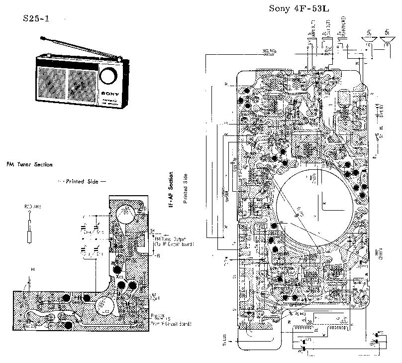 SONY 4F-53L SM Service Manual download, schematics, eeprom