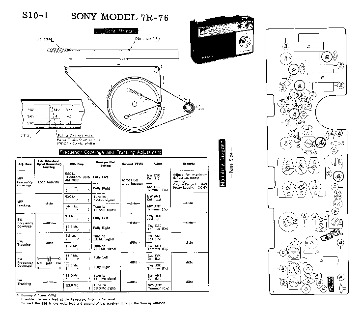 SONY STR-DE405 DE505 Service Manual free download