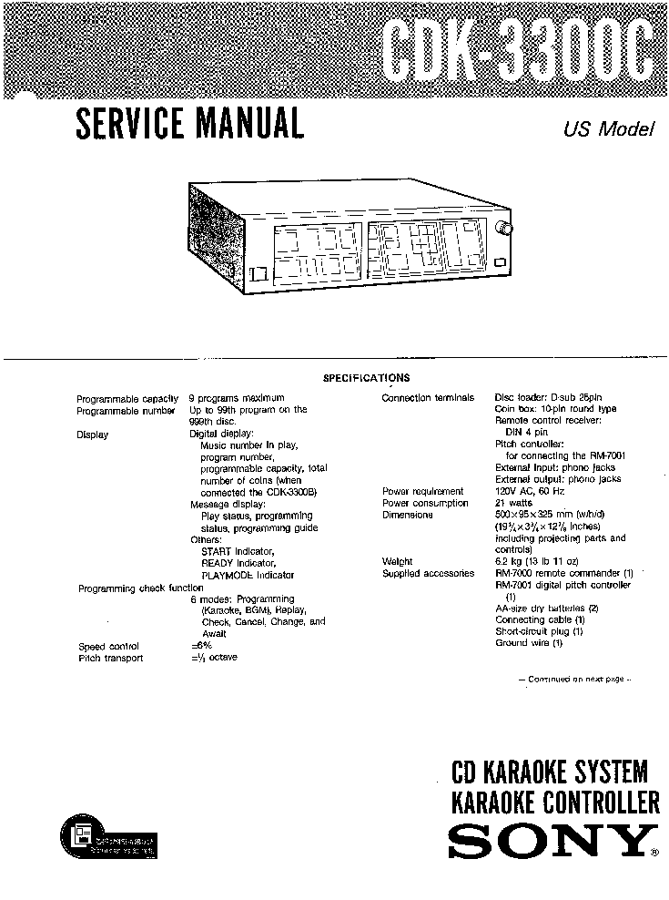 SONY ST-A6B SERVICE Service Manual free download
