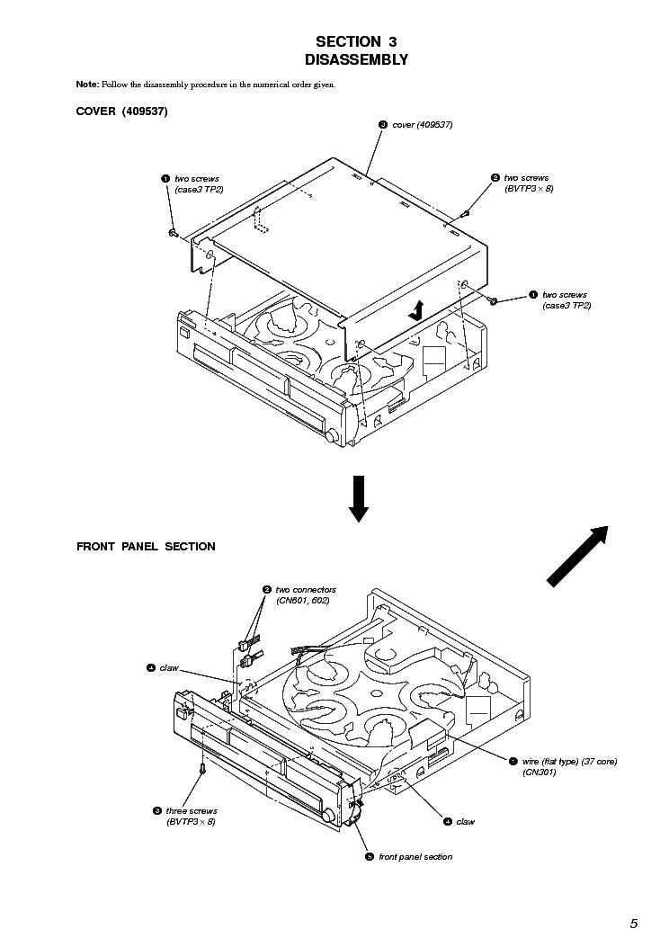 SONY STR-DE185 Service Manual download, schematics, eeprom