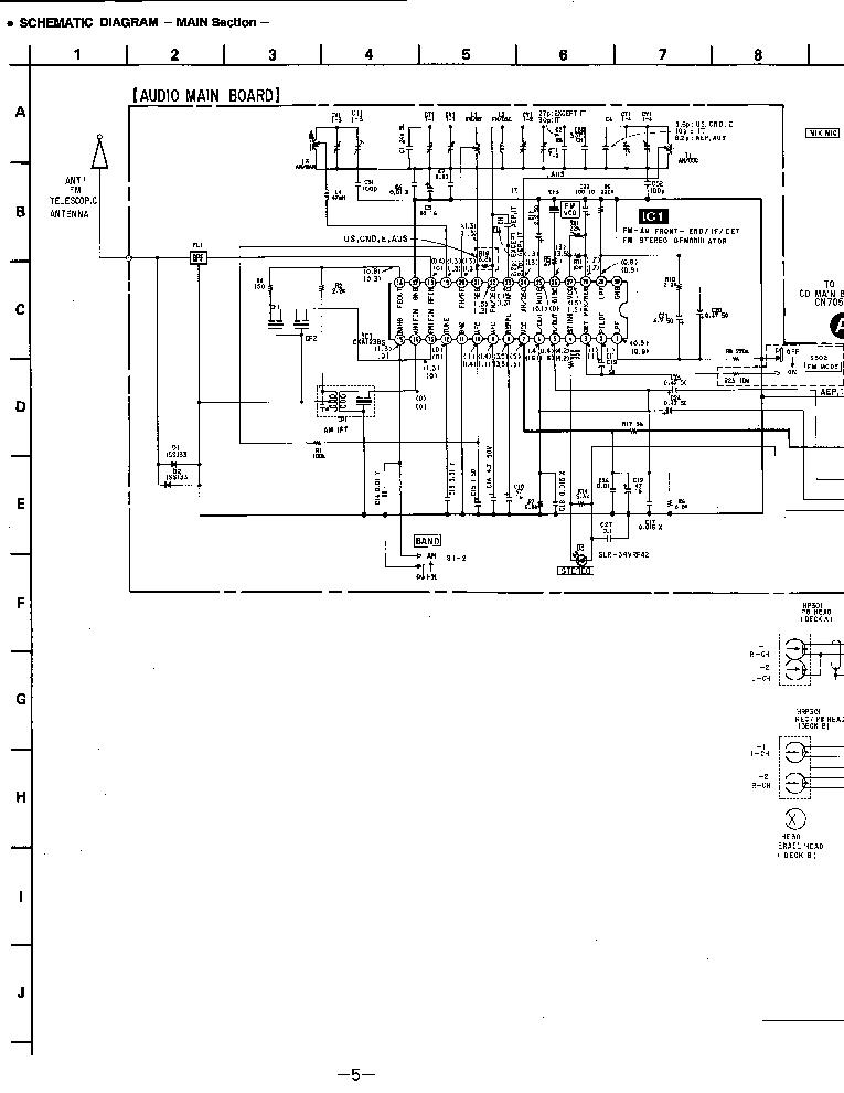 SONY CFD-560 SCH Service Manual download, schematics