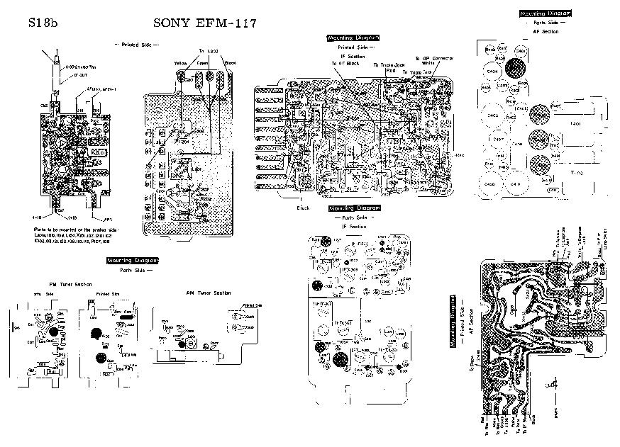 SONY TA-F235R Service Manual free download, schematics