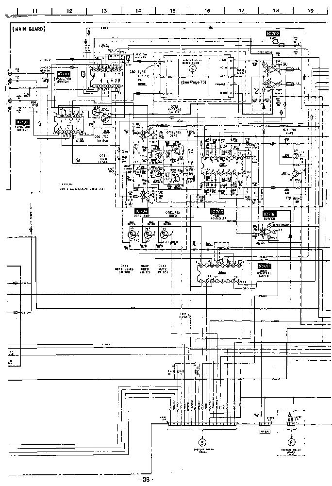 SONY HCD-C50 SCH Service Manual download, schematics