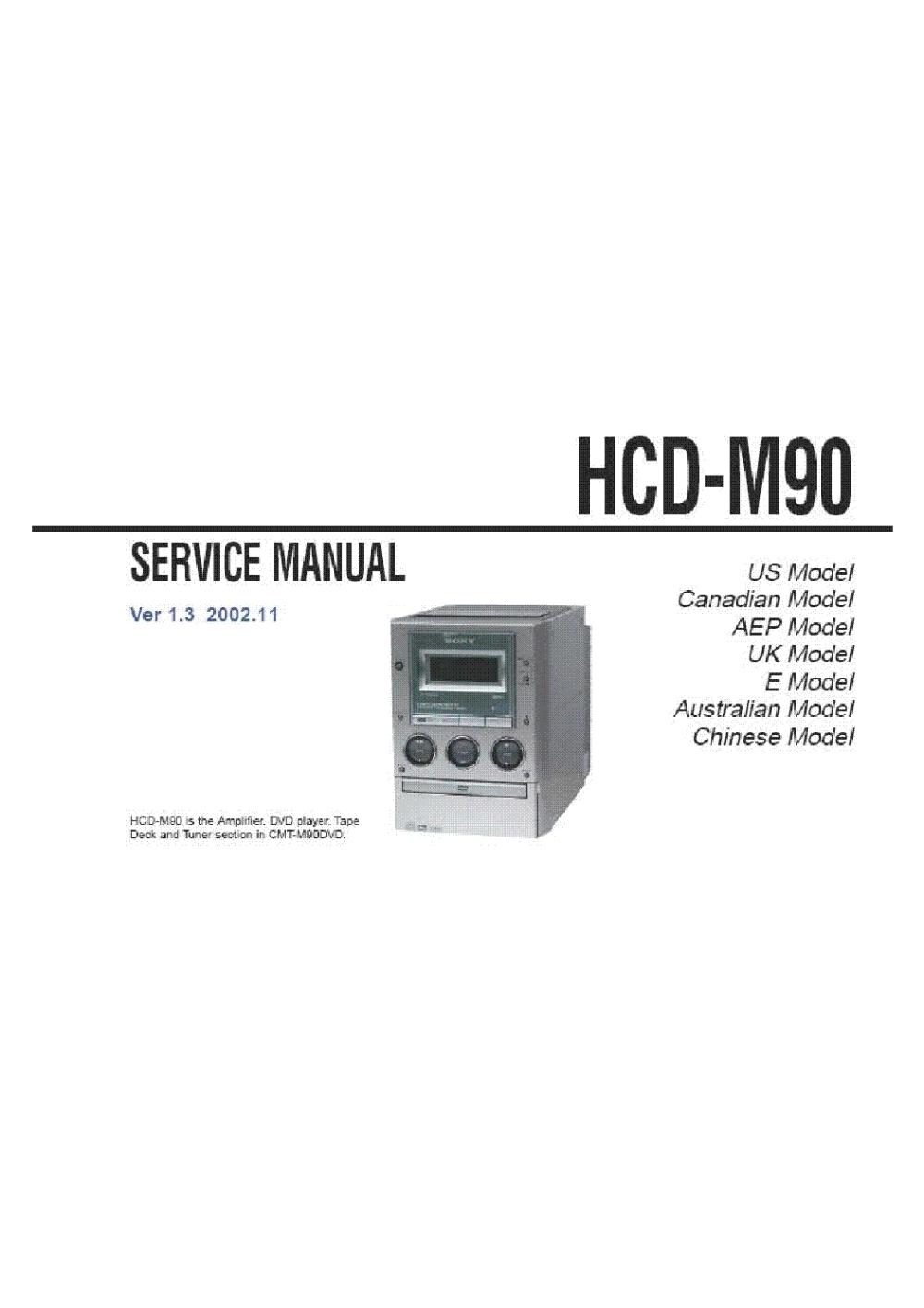 medium resolution of sony sony tc 500a service manual