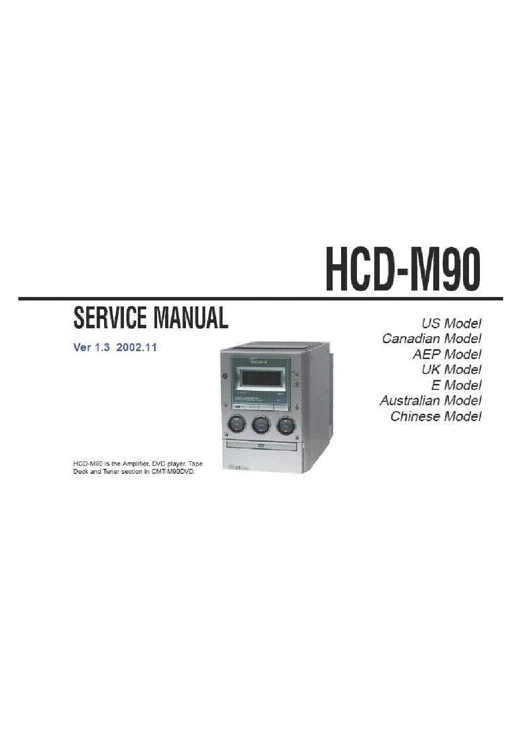hight resolution of sony sony tc 500a service manual