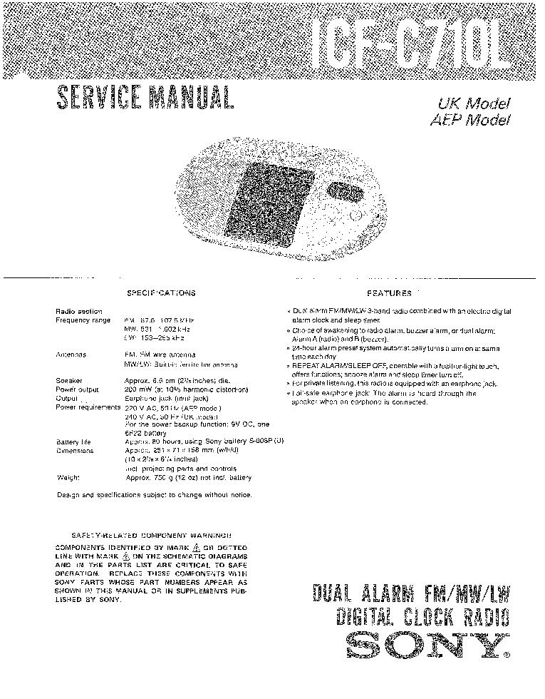 SONY TA-SA100WR VER-1.0 SM Service Manual free download